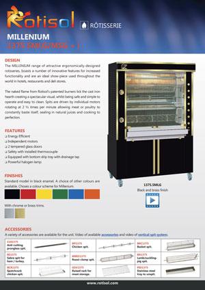 Rotisserie (AUS) GF 1375.5 MLG/MSG + i