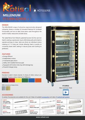 Rotisserie (AUS) GF 975.8MLG/MSG + i