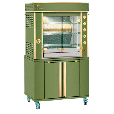 Olive Green enamel with Luxe Brass trim