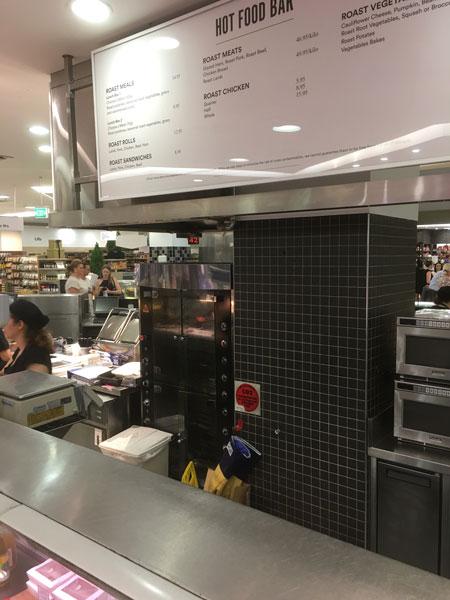 David Jones Food Hall, Sydney NSW